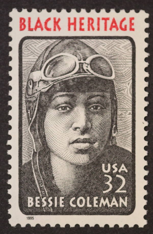 Stamp Of Bessie Coleman