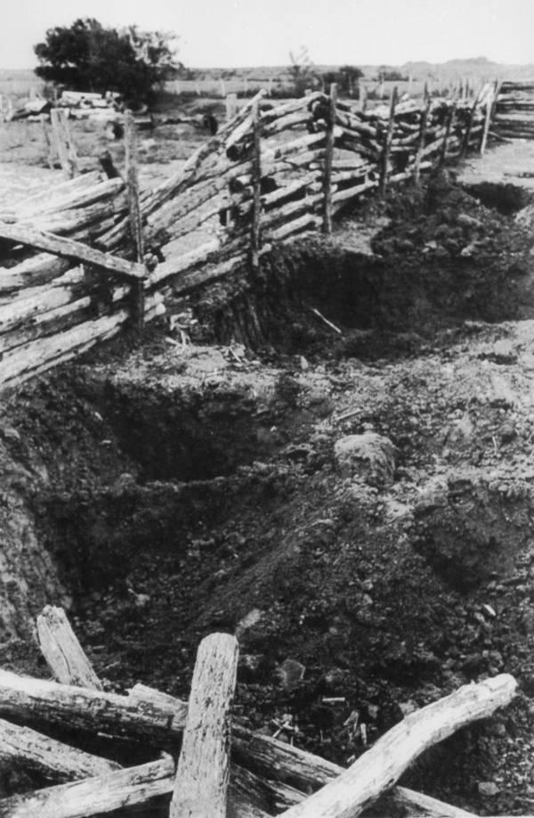 Graves For Ritual Sacrifice Victims