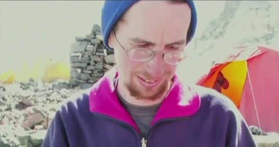 David Sharp Before Climb
