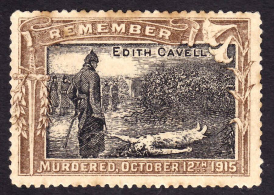 Edith Cavell Postcard