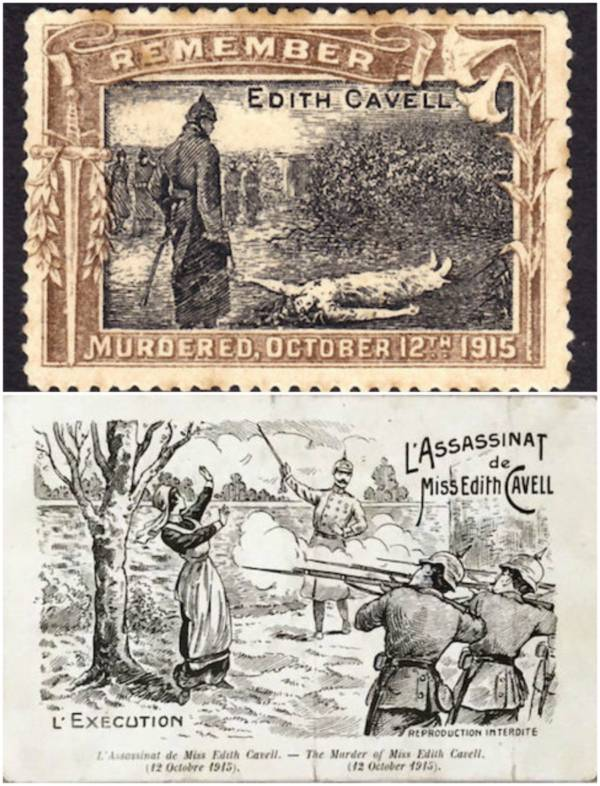 Edith Cavell Propaganda