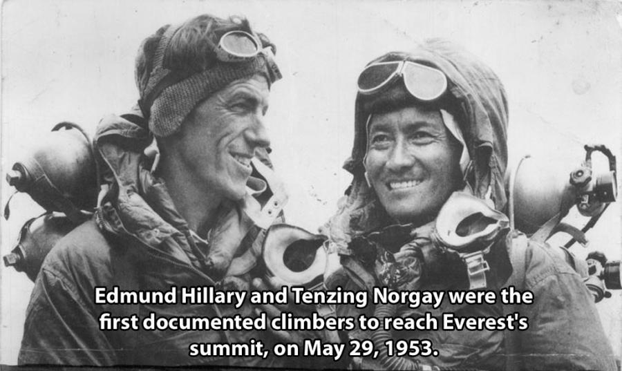 Edmund Hillary Tenzing Norgay