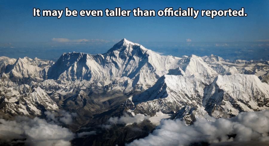 Everest From Drukair