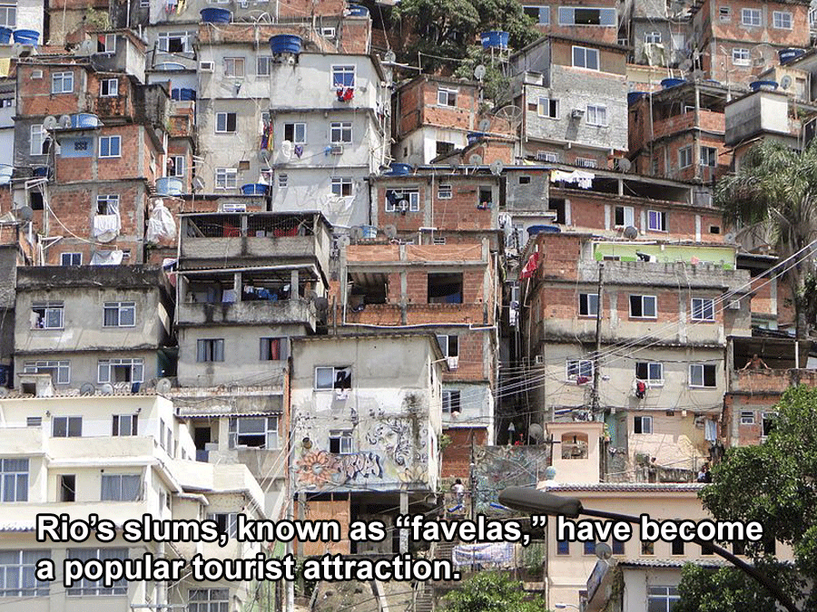 Interesting Facts About Brazil Favelas