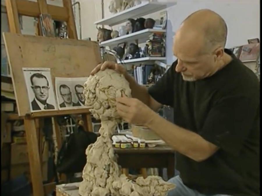 Frank Bender Sculpts