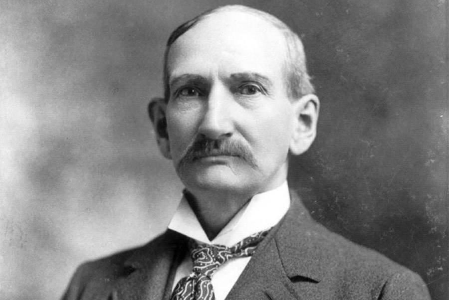 Frank James Portrait