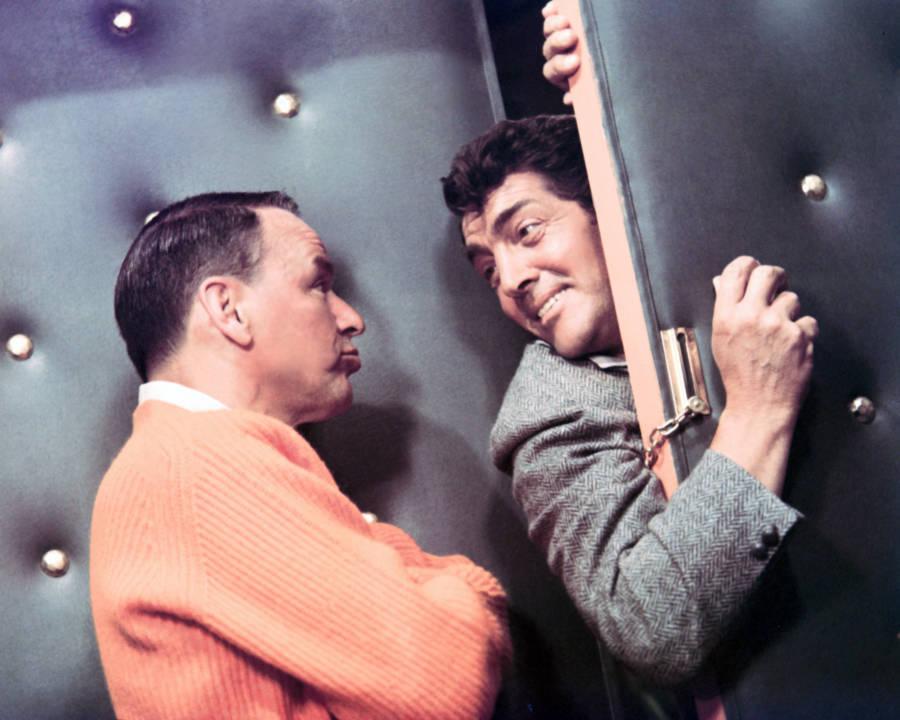 Frank Sinatra Dean Martin Color