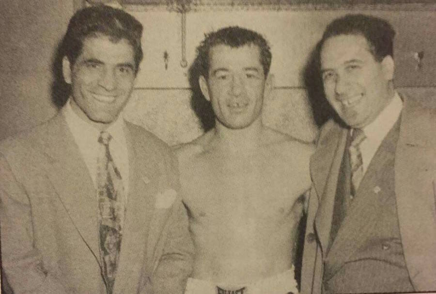 John Sonny Franzese With Rocky Graziano