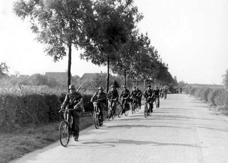 German SS Soldiers During Operation Market Garden