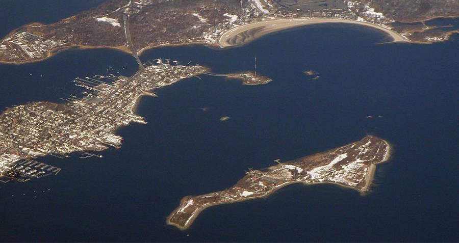Hart Island Map