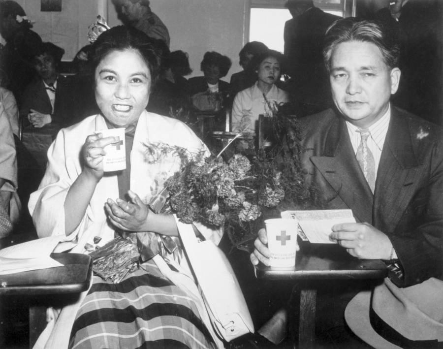 Hiroshima Maidens With Kiyoshi Tanimoto