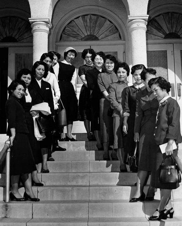 Hiroshima Maidens Group Photo