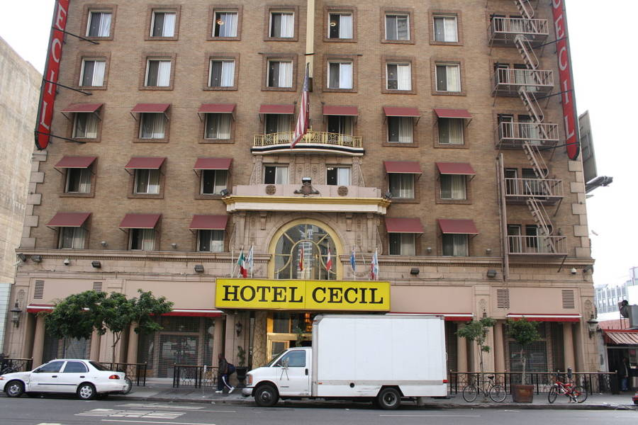 Hotel Cecil In Los Angeles