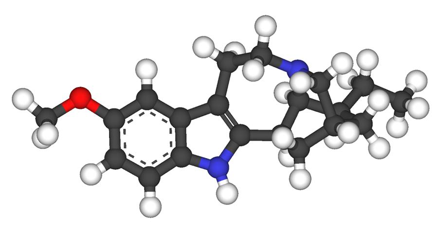 Ibogaine Molecule