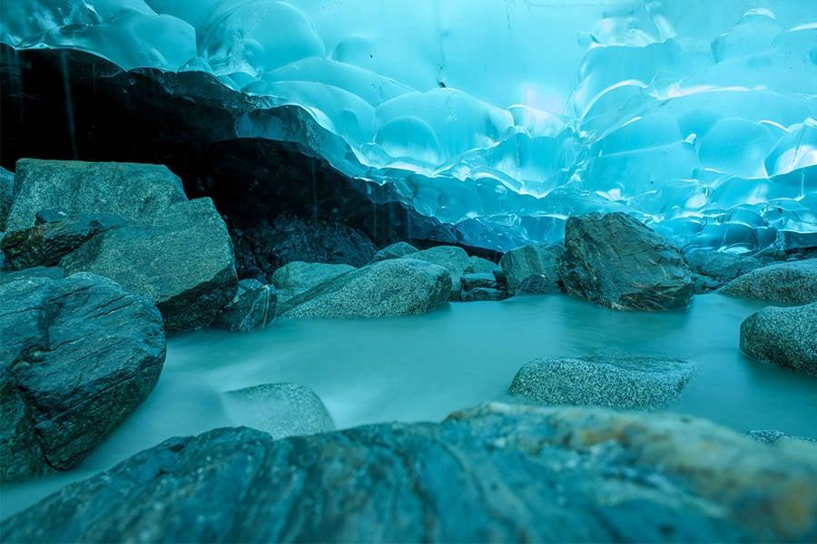 Ice Cave Pond