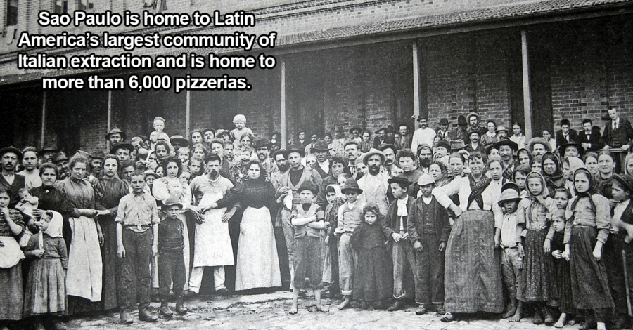 Immigrants In Sao Paulo