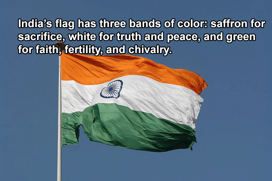 Indian Flag Colors