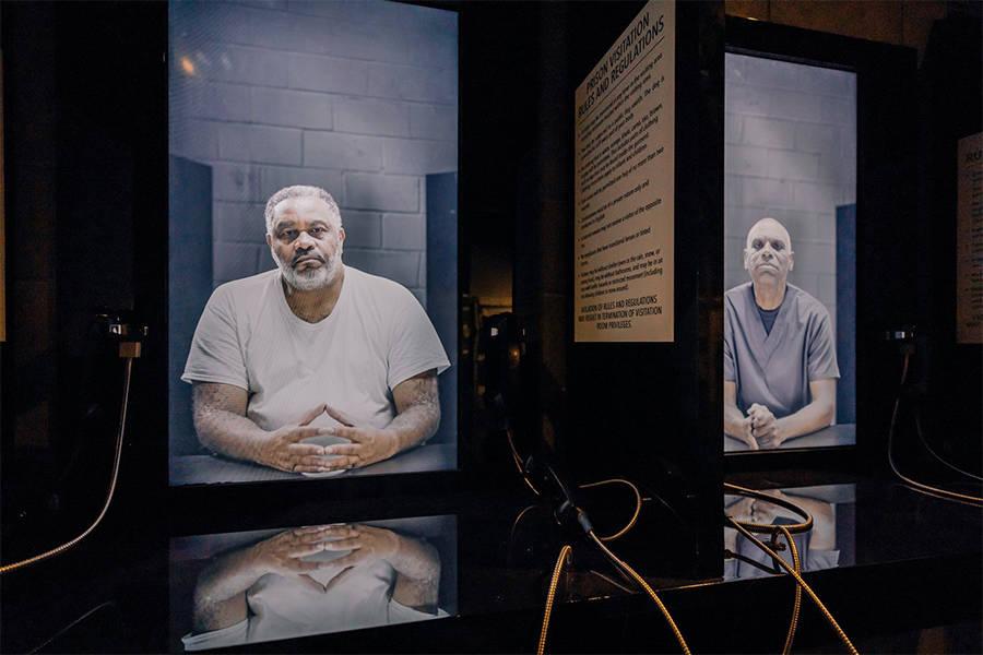 Interactive Prison Exhibit