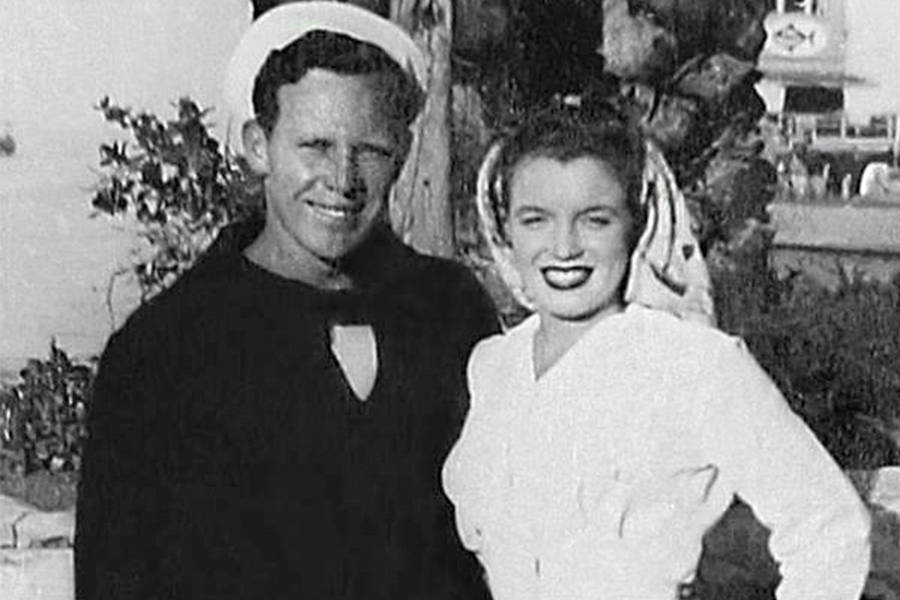 James Dougherty And Norma Jeane Mortenson