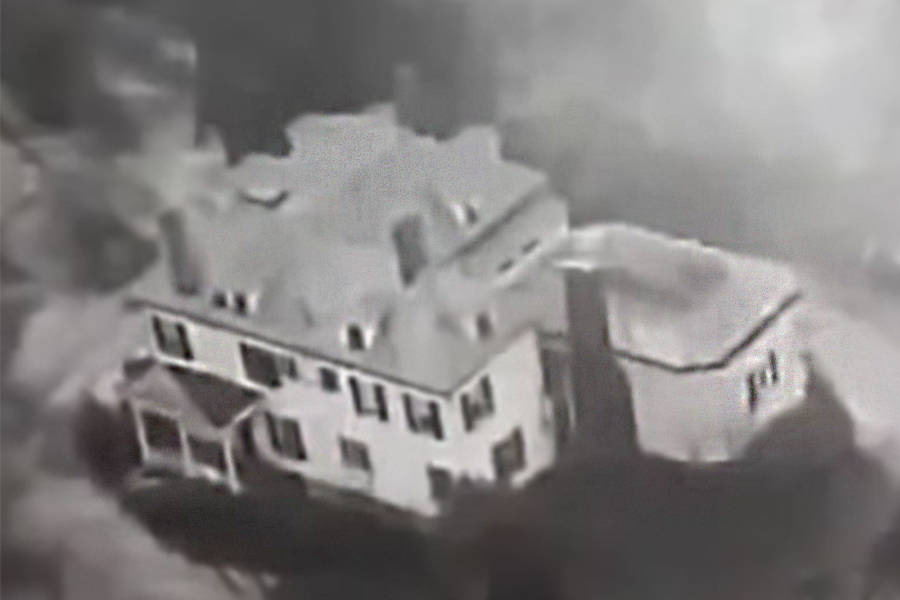 John List House Aerial