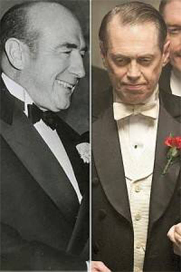 Nucky Johnson and Steve Buscemi