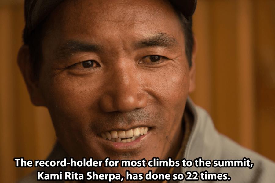 Kami Rita Sherpa Everest