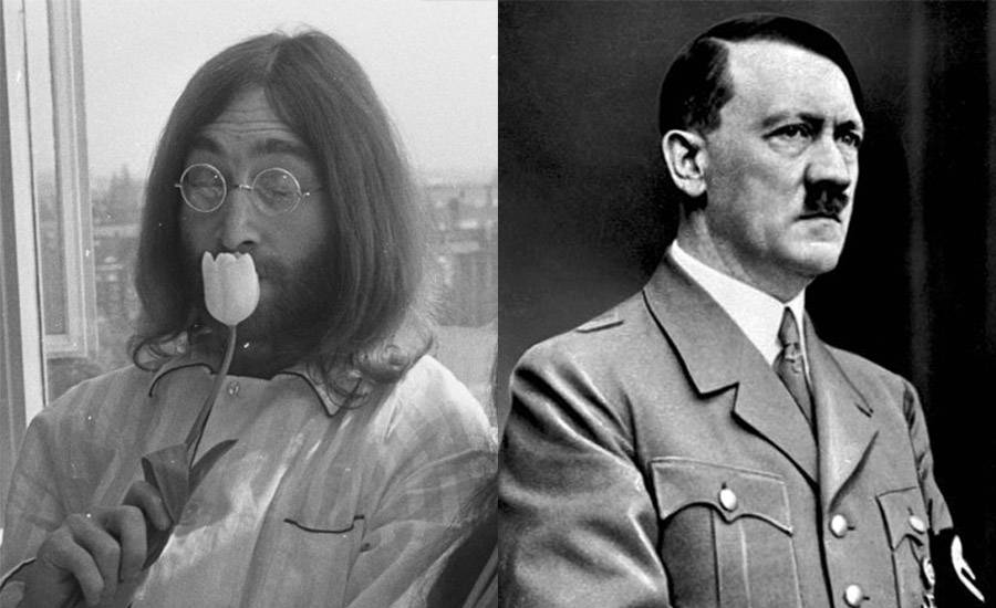 John Lennon And Adolf Hitler
