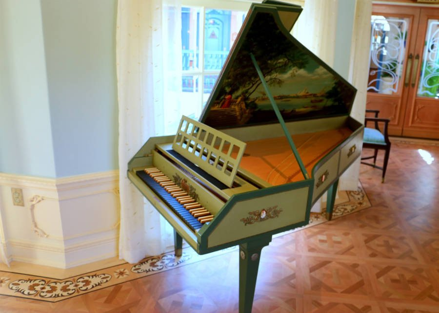 Lillian Disney Harpsichord