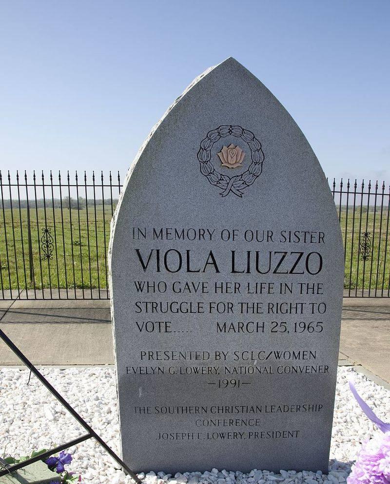 Memorial For Viola Liuzzo