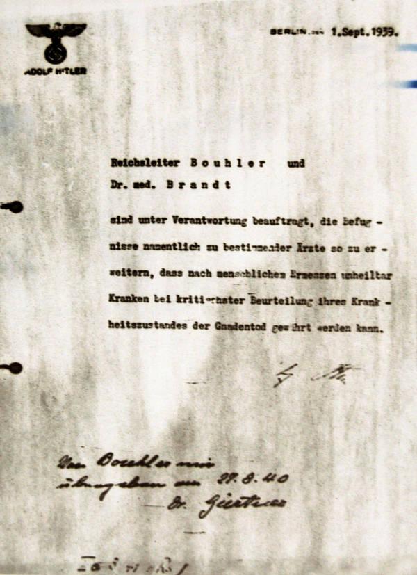 Memo From Hitler