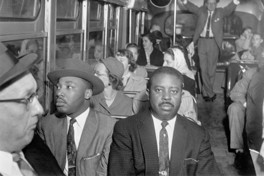 Mlk Desegregated Bus Ride