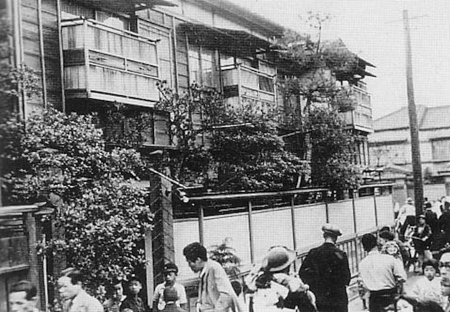 Sada Abe Murder Site