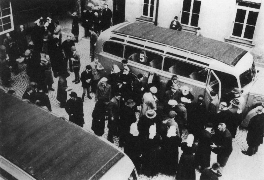 Nazi Relocation Of Disabled People