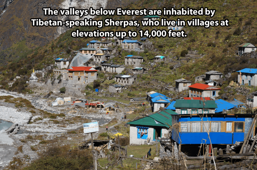 Nepal Sherpa Village