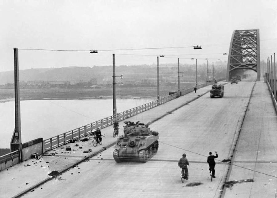 Nijmegen Bridge In The Netherlands