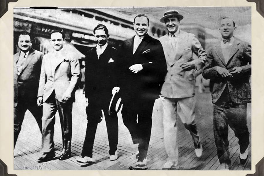 Nucky Johnson With Al Capone