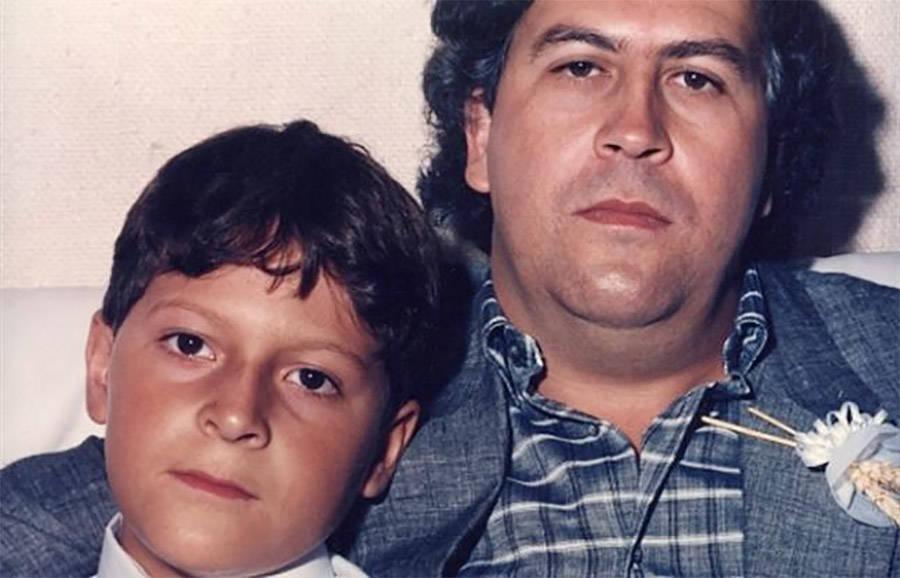 Juan Pablo Escobar And Pablo Escobar