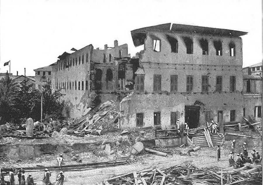 Palace Destroyed