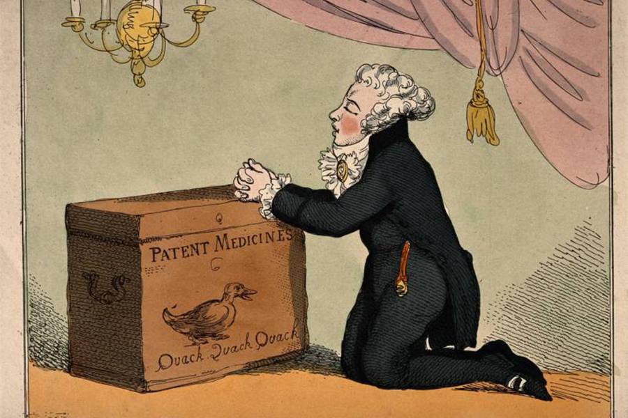 Patent Medicine Vendor