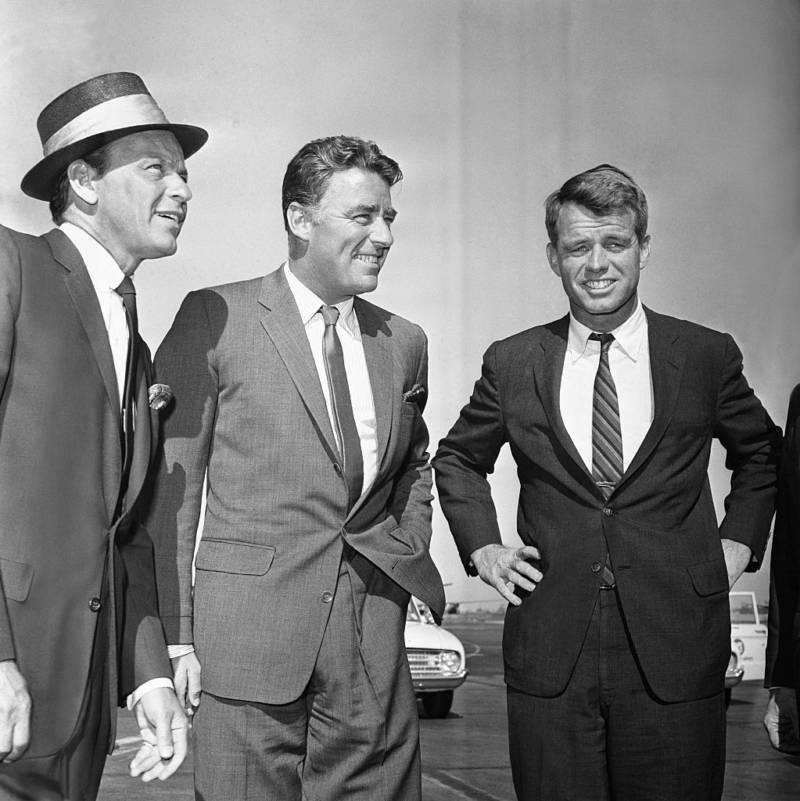 Peter Lawford Bobby Kennedy Sinatra