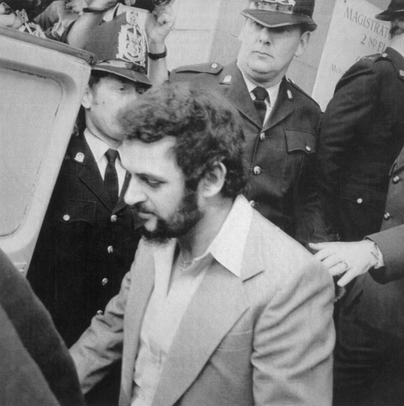 Peter Sutcliffe With  Police