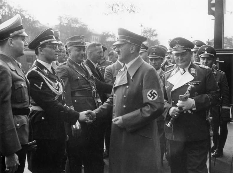Philipp Bouhler With Hitler