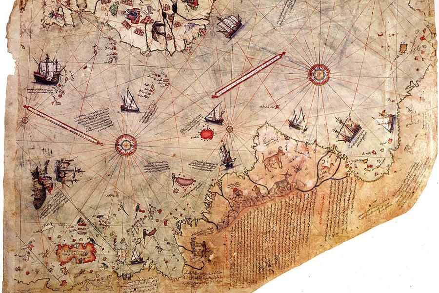 Piri Reis Map Antarctica