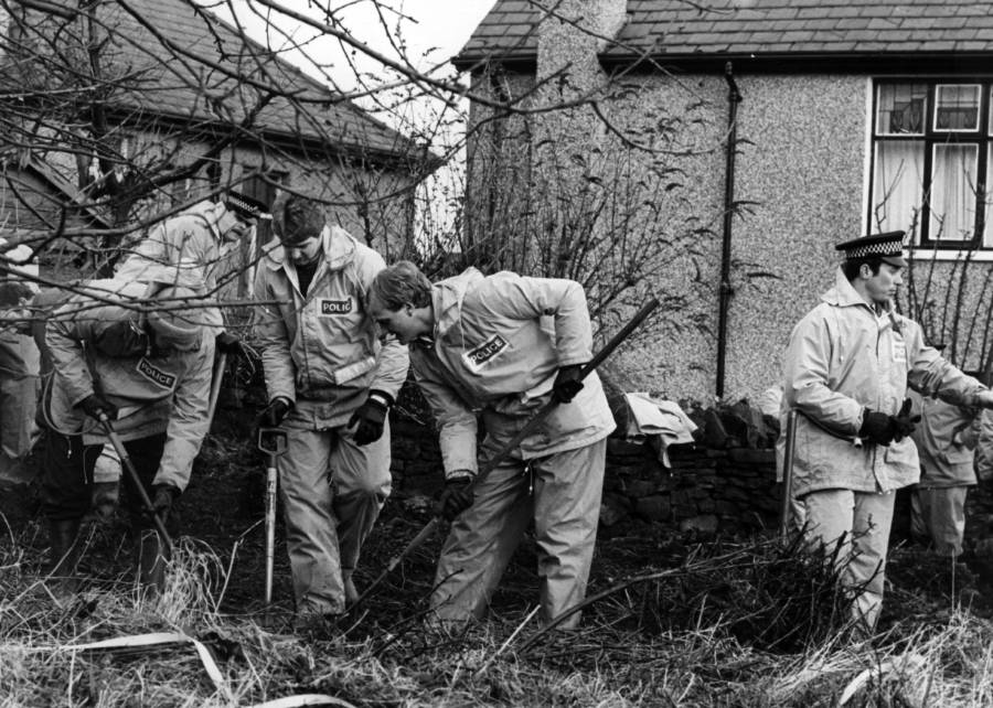 Police Investigating Sutcliffe Home