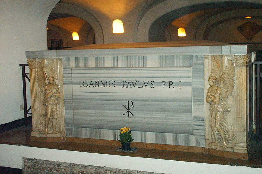 Pope John Paul Tomb