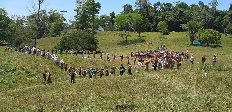 Rainbow Gathering In Costa Rica