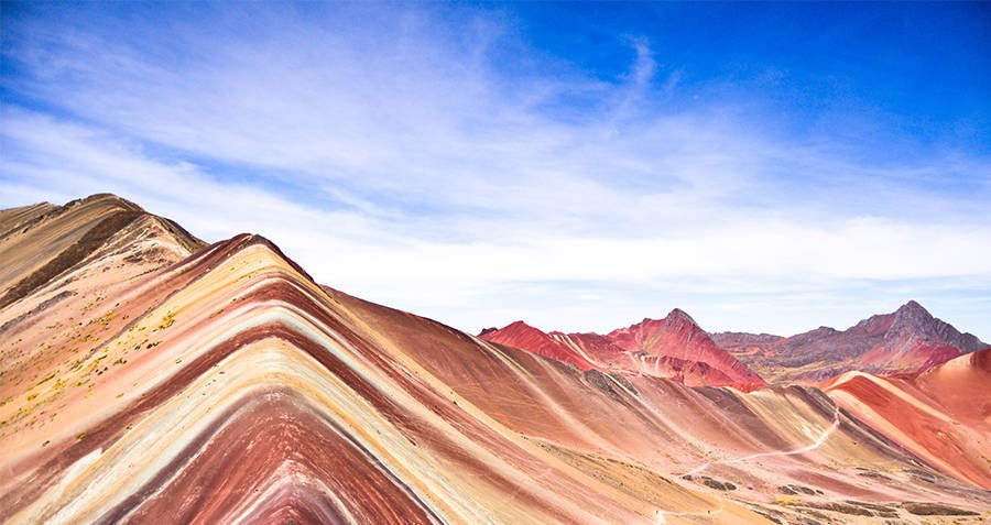 Rainbow Mountains Peru