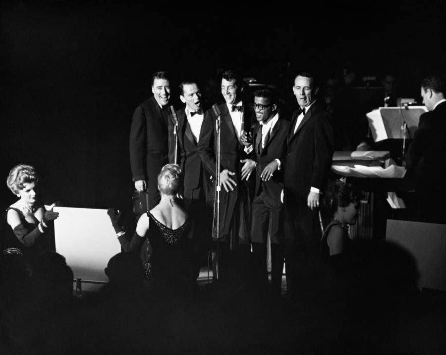 Rat Pack Performing