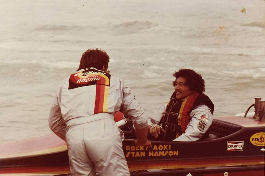 Rocky Aoki Boat
