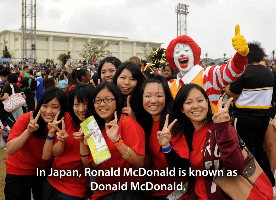 Facts About Japan Donald McDonald